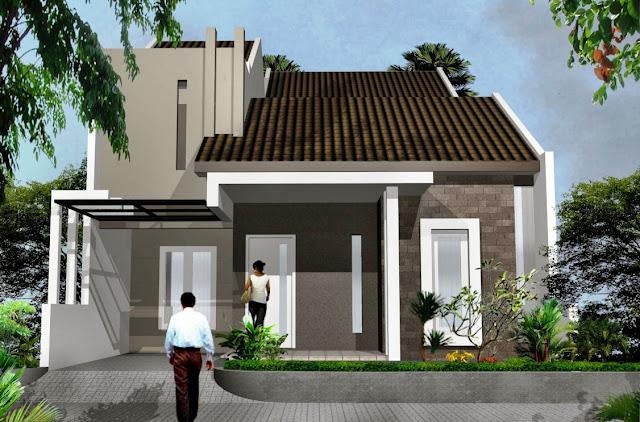 Desain Model Rumah Minimalis Tipe 60 dengan 1 Lantai