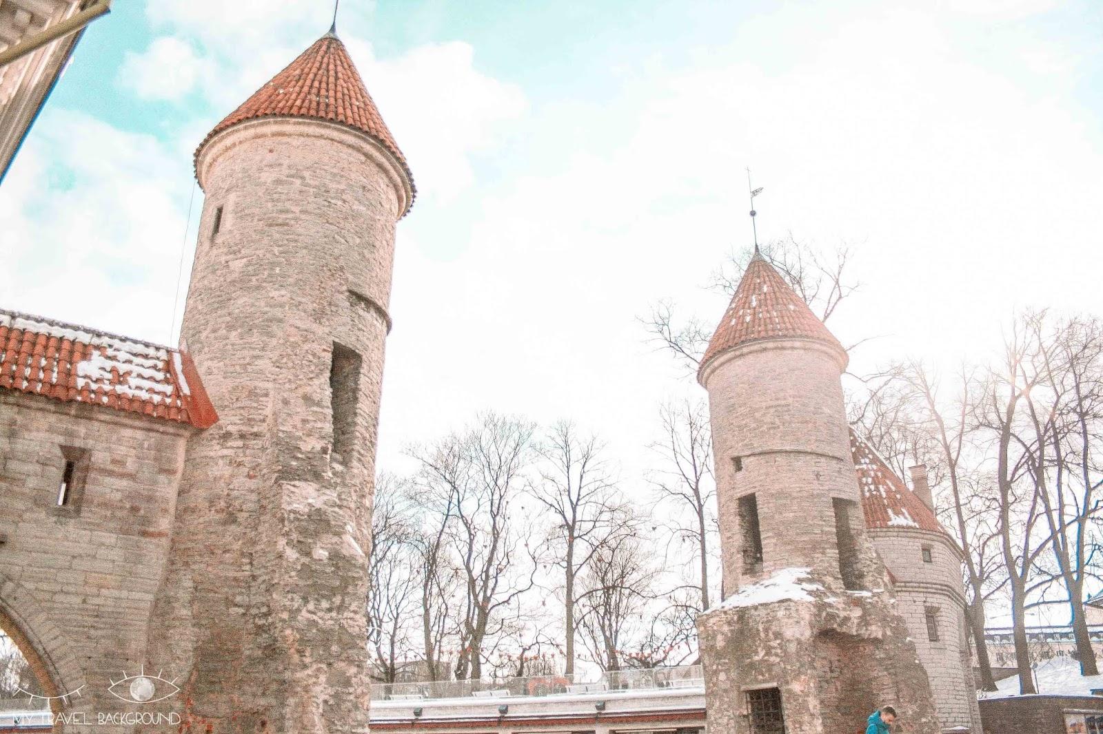 My Travel Background : Escale à Tallinn en Estonie, la perle de la Mer Baltique - Les remparts de Tallinn