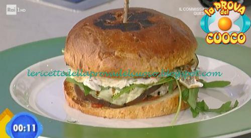 Cheeseburger di Pasqua ricetta Bongiovanni da Prova del Cuoco