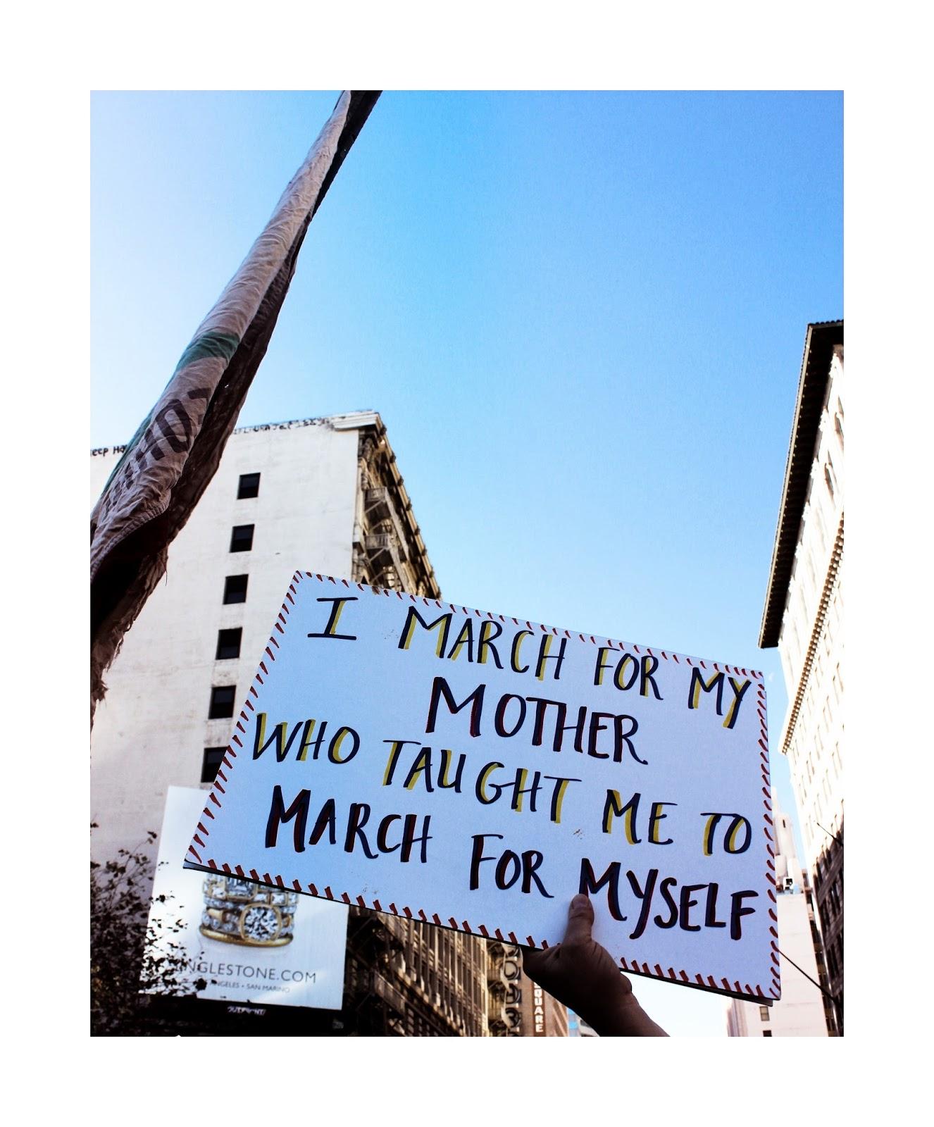Women's March 2017 | #RiseUp