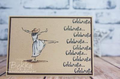 Beautiful You Celebration Card - buy Stampin' Up! UK here