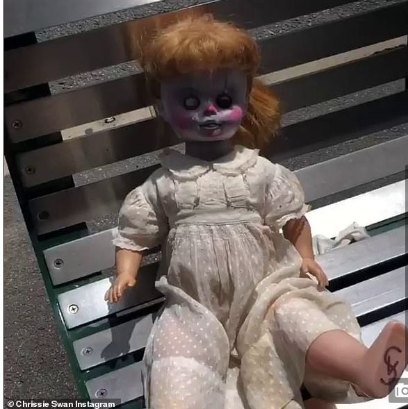 Mysterious Doll Found Sitting On A Public Bench