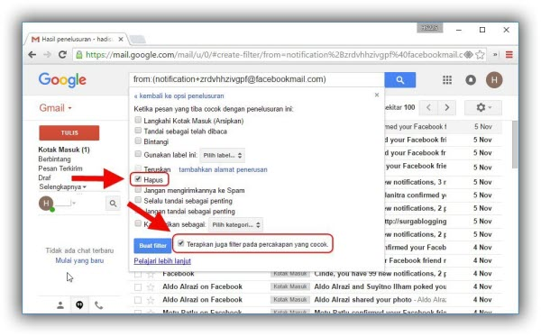 Cara Menghapus Ratusan Inbox di Gmail dengan Mudah dan Cepat