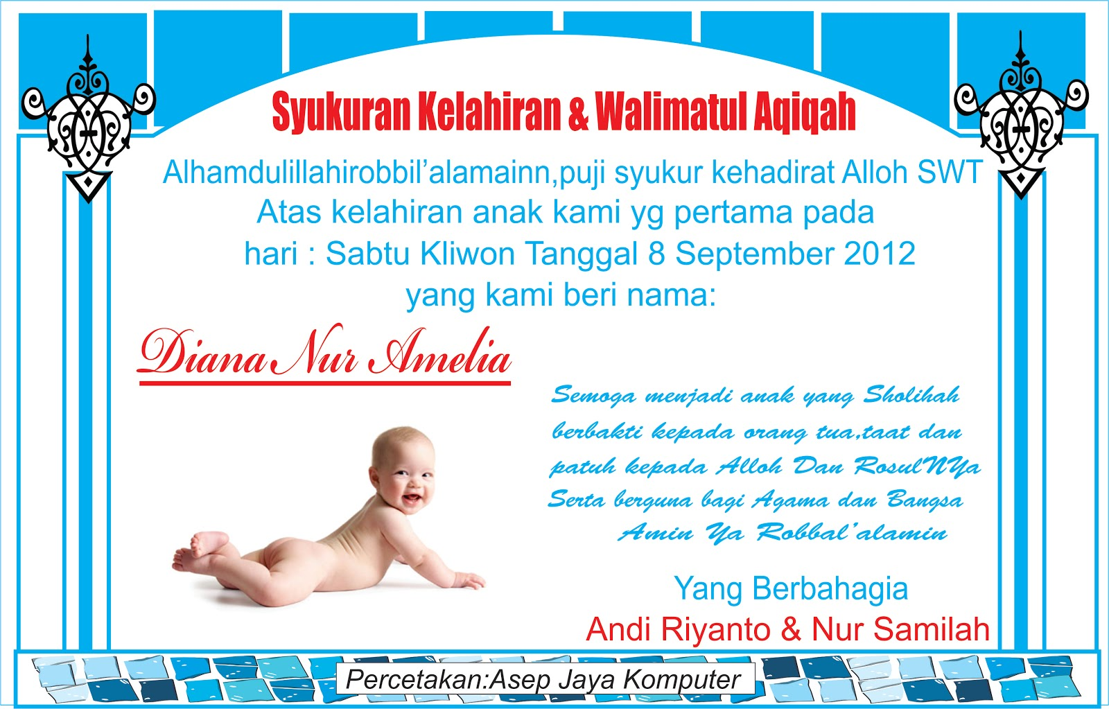 Contoh Kartu Manyessays Contoh Kartu Ucapan Greeting Card Bahasa