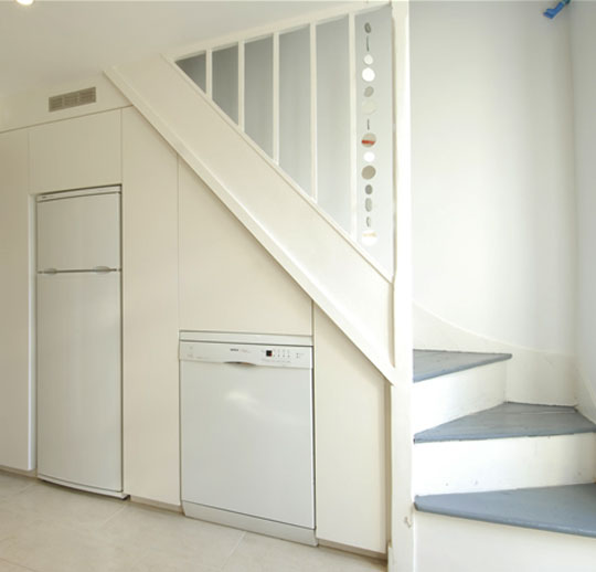 Home Decor 2012: Modern Homes Under Stairs Cabinets
