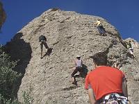 FORMACIÓ ESCALADA: Bateig d'escalada en roca (Collbató)