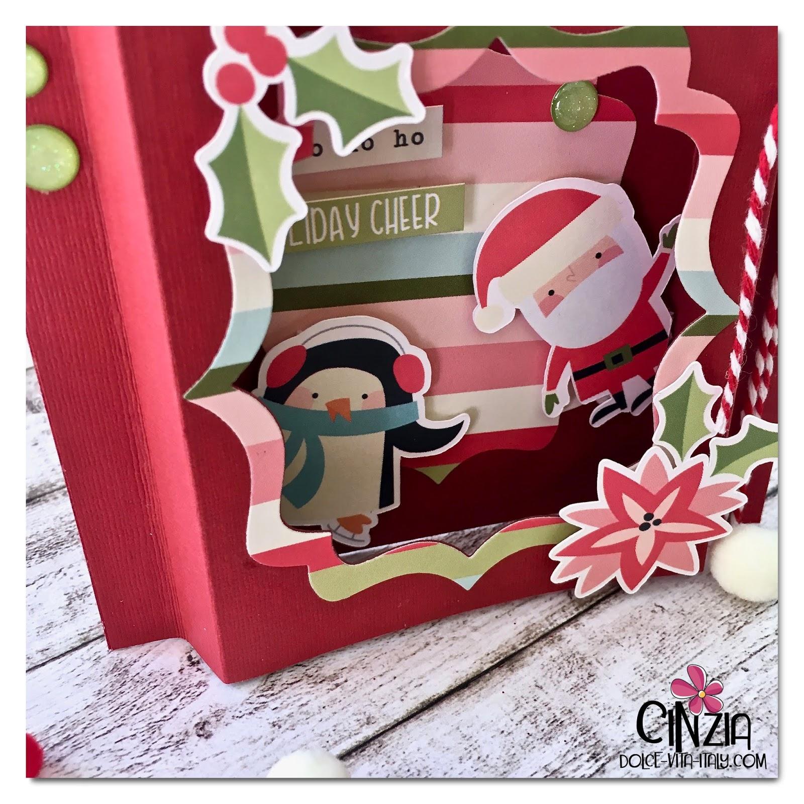 Auguri Di Buon Natale Per Una Persona Speciale.Dolce Vita Italy Buon Natale Con Una Frame Card