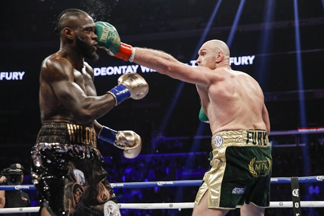 Deontay Wilder And Tyson Fury Definitely Have An Unfinished Business - Wilder's Trainer