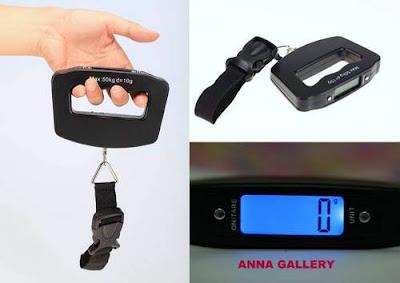 timbangan koper digital, anna gallery, di tangerang