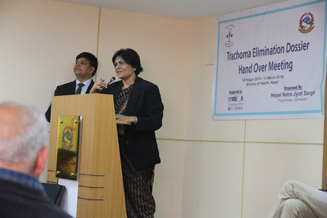 trachoma is eliminated in Nepal