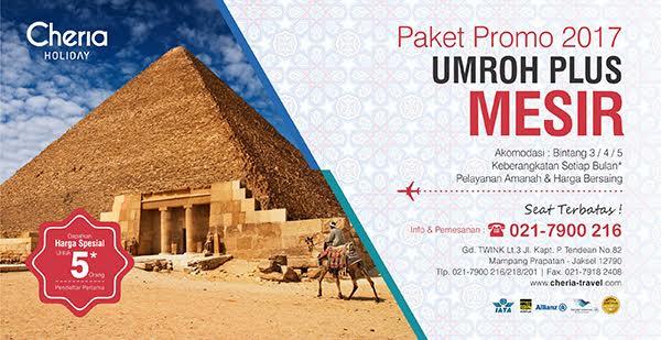 Paket Promo Umroh Plus Mesir 2017