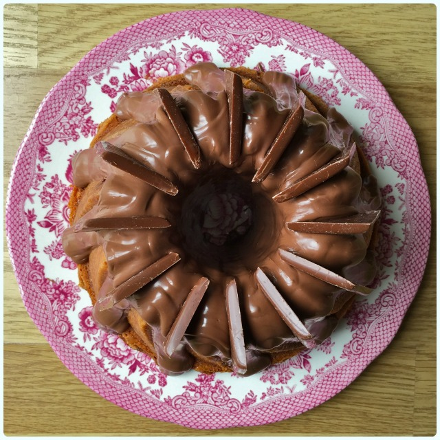Turkish Delight Bundt Cake