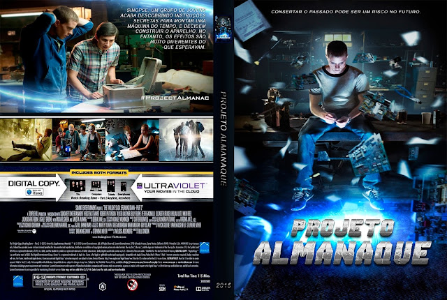 Capa DVD Projeto Almanaque
