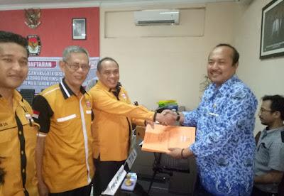 Hanura Daftarkan Bacaleg ke KPU NTB