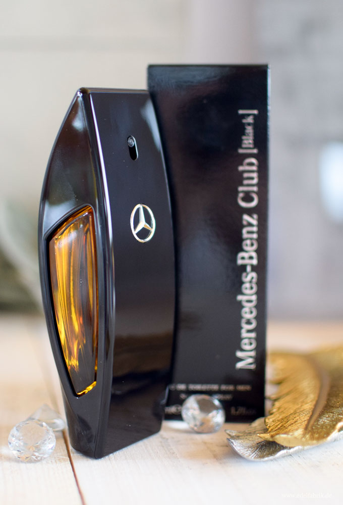Mercedes-Benz Club Black Eau de Toilette, neuer Männerduft