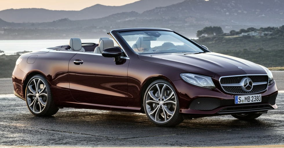 2018 mercedes benz e class convertible looks better than for Best looking mercedes benz models