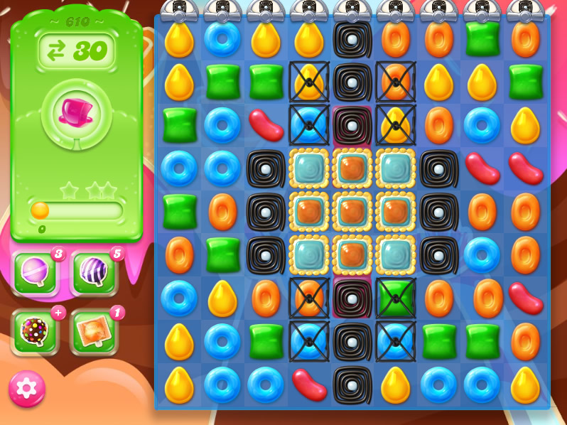 Candy Crush Jelly Saga level 610