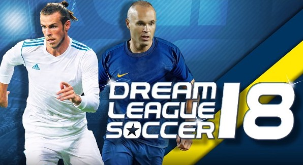 Dream League Soccer 2018 v5.054 Mod Apk + Data Terbaru for Android