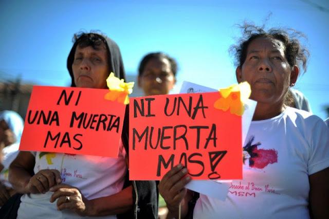 El Salvador tiene la tasa más alta de homicidios contra la mujer en Latinoamérica