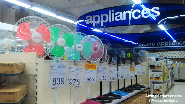 Shopwise Home Appliances Section