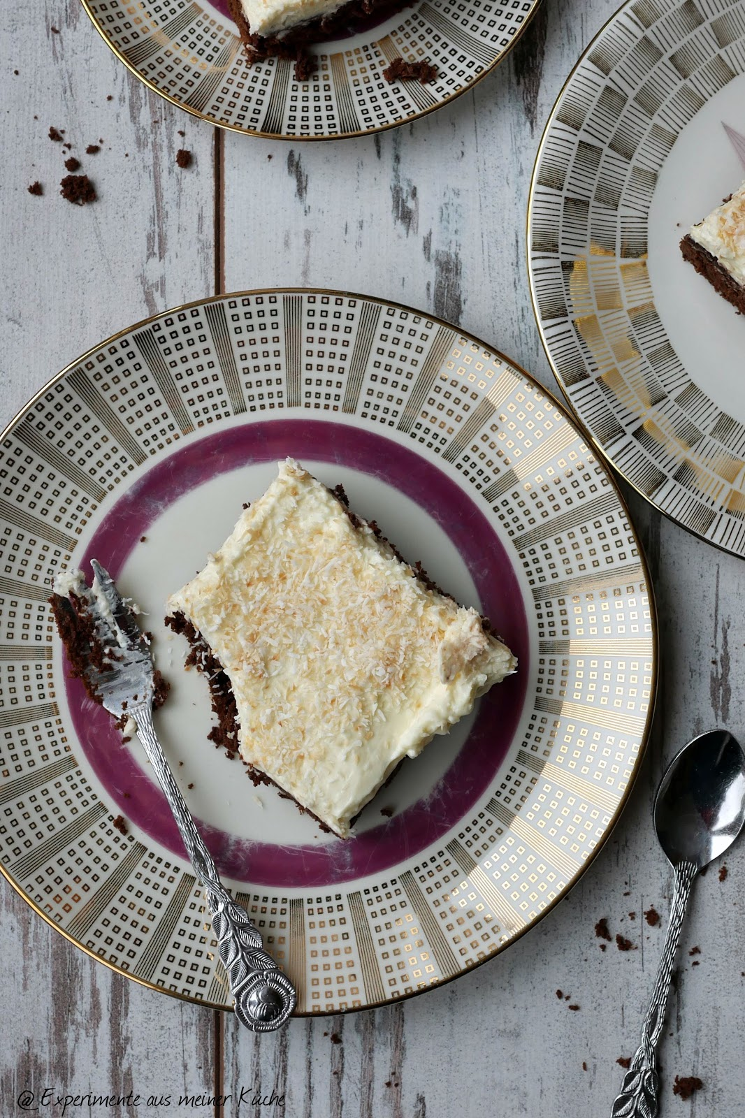 Experimente Aus Meiner Kuche Kokos Brownie