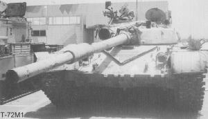O T-72M1 «Leão da Babilonia» (acima) era a versão melhorada que estava ao serviço no Iraque em 1989