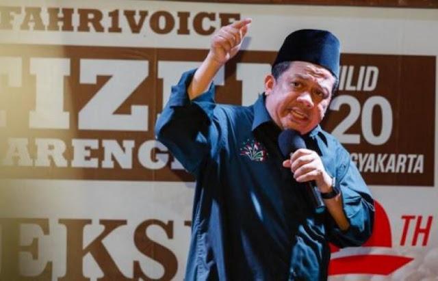 Bocoran Soal Debat Capres, Fahri Hamzah: Layak KPU Dicurigai