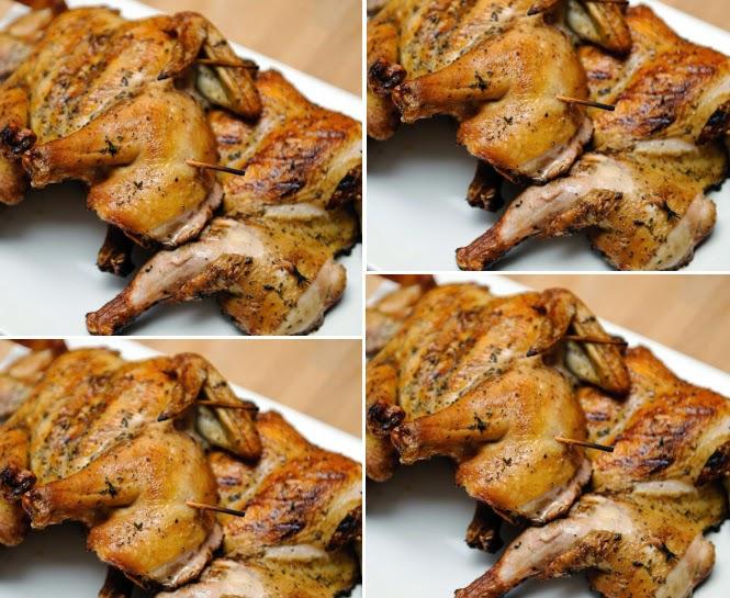 Resep Ayam Panggang Oven Bumbu Sederhana Unik Enaknya - Oke Meals