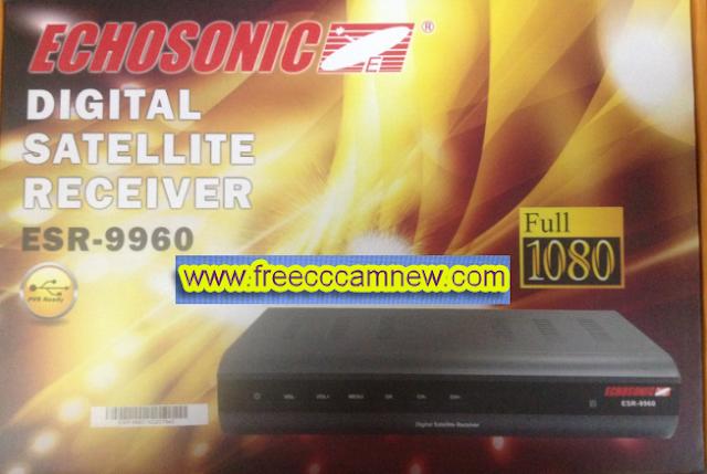 تحديث جهاز ECHOSONIC ESR-9960,تحديث جهاز,ECHOSONIC ESR-9960,