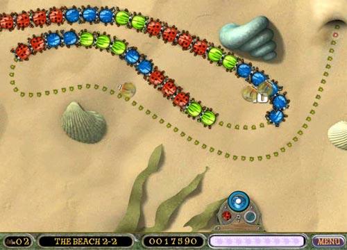 لعبة زوما الحشرات Beetle Bomp للكمبيوتر والاب توب كاملة