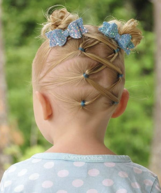 little girl braid hairstyle