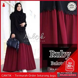 Jual RRJ009D131 Dress Muslim New Wanita Ruby Maxy Sk BMGShop