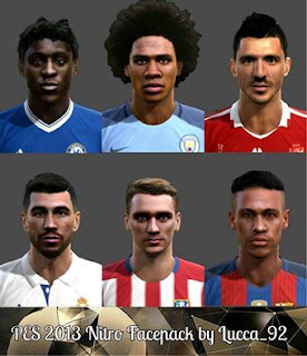 PES 2013 Nitro Facepack by Lucca_92