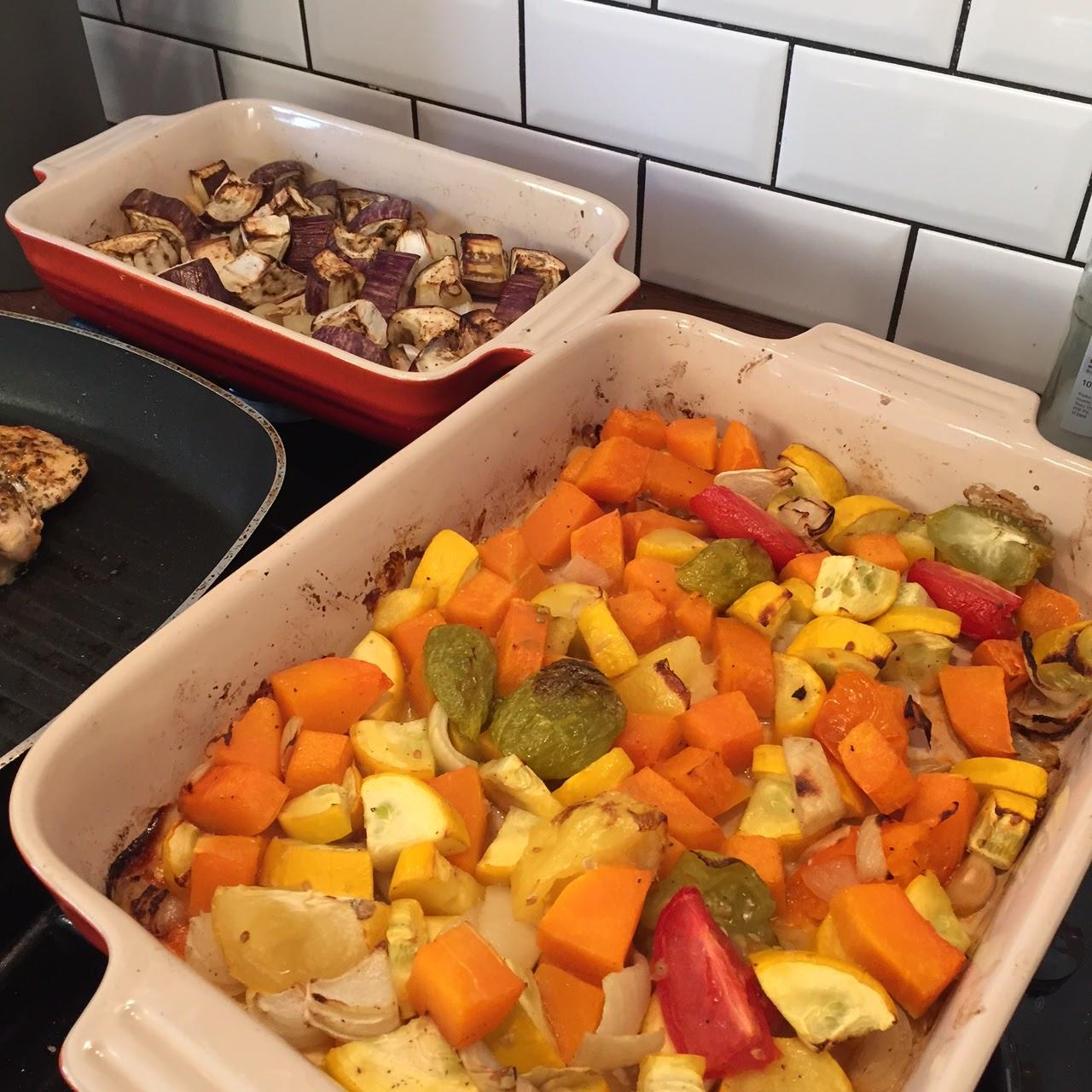 Mediterranean mixed vegetables