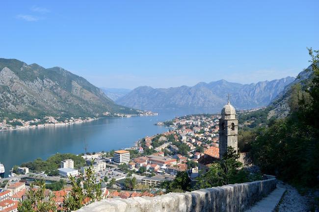 montenegro, matkakertomus, kotor, linnoitus
