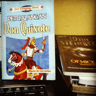 Petualangan Don Quixote karya Miguel de Cervantes