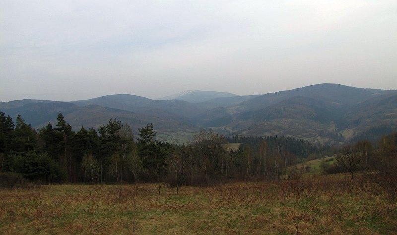 Panorama w kierunku Babiej Góry