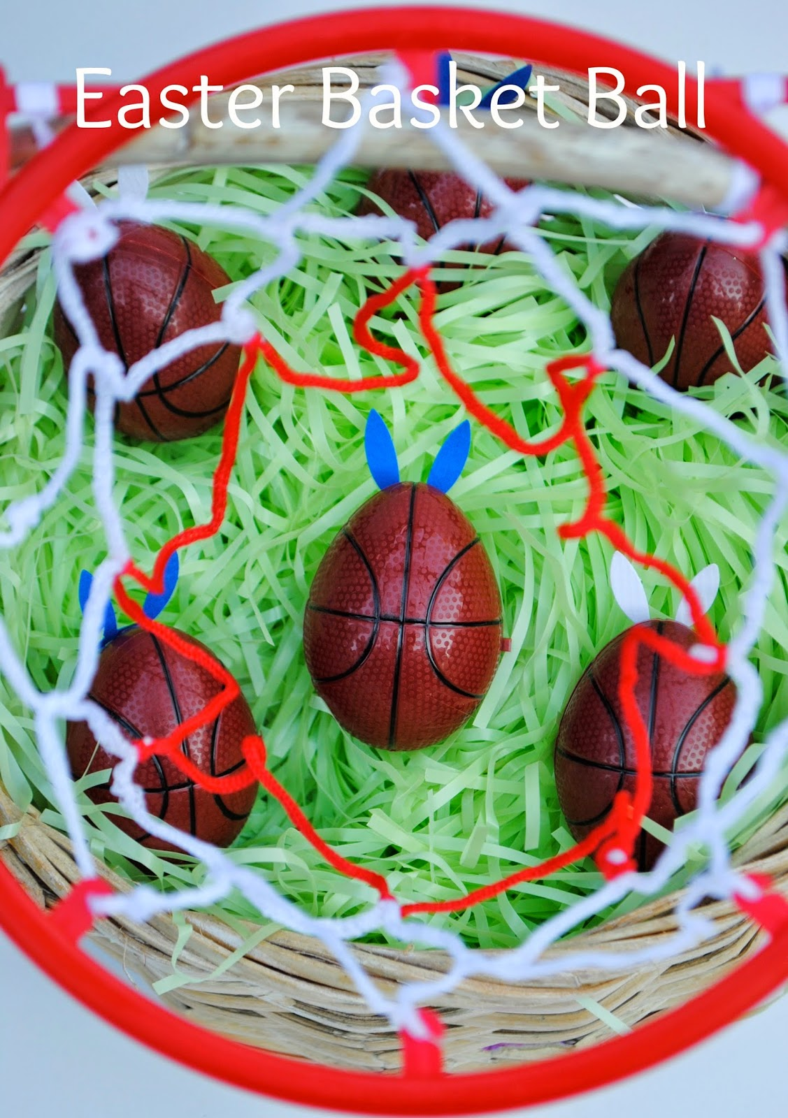 March Madness Basketball Easter Baskets | www.jacolynmurphy.com