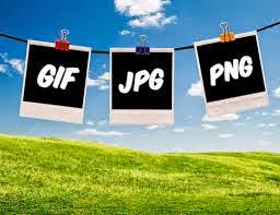 JPEG, GIF, PNG