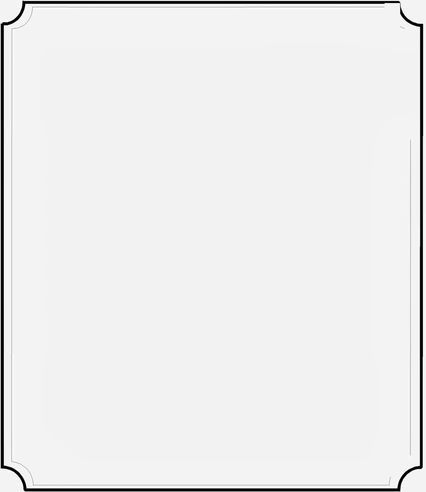 Line White Best Collection Store Page Border Line Art Black And White