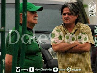 Oriente Petrolero - Xabier Azkargorta - Jose Ernesto Álvarez - DaleOoo.com sitio del Club Oriente Petrolero