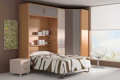 Best bed and wardrobe design for bedroom