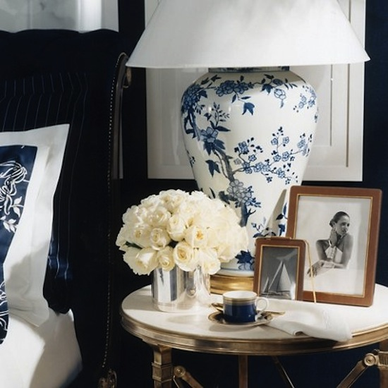 The Zhush Blue And White Lamps