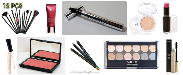 kit basico maquillaje principiantes low cost barato basics products makeup