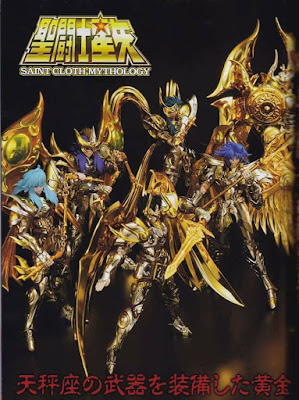 Preview de los Myth Cloth EX Soul of Gold reunidos y armados (final stage) - Tamashii Nations