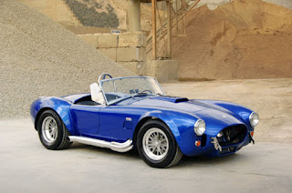 1965 Blue Shelby Cobra Special Car