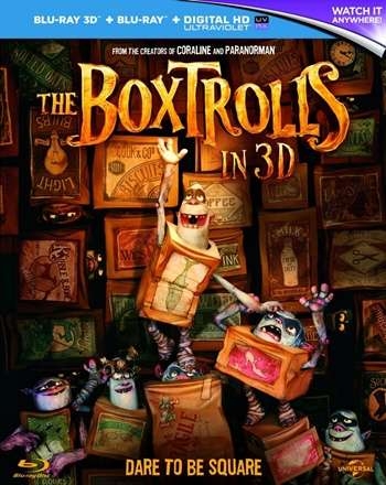 The Boxtrolls 3D Latino