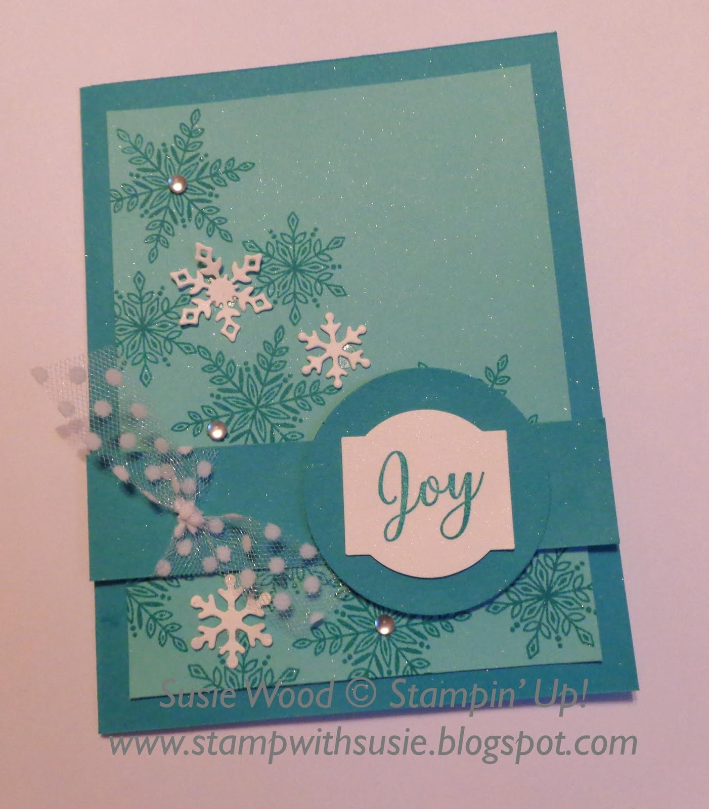 Stamp with Susie: Snowflakes!