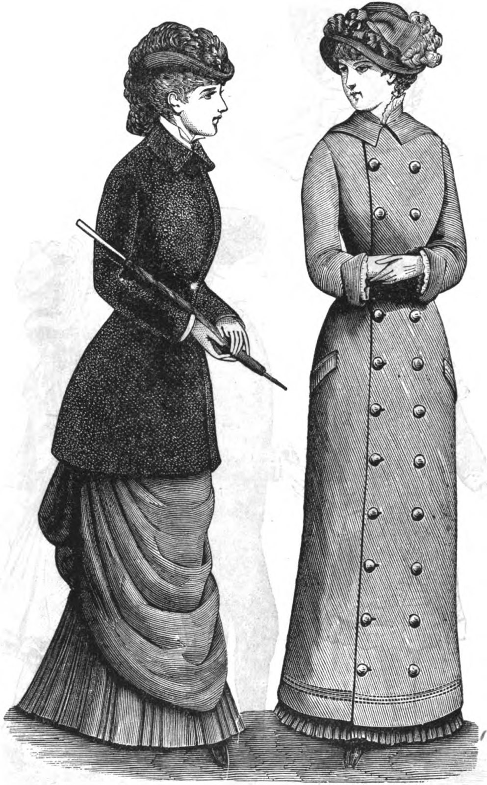 19th Century Historical Tidbits 1882 Womens Fashions