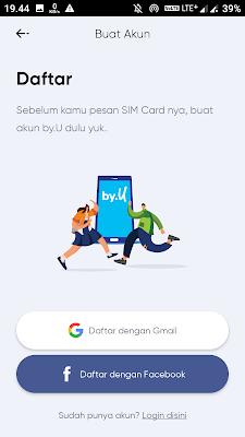Pengalaman Beli Kartu Perdana By.U di Kirim ke Kalimantan